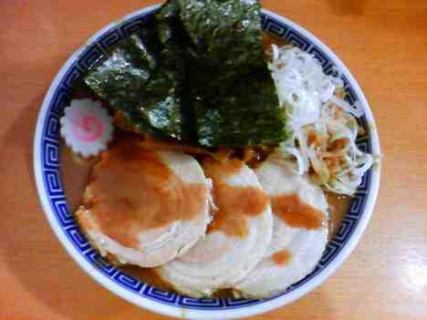 中華蕎麦 とみ田の特製中華そばの口コミ 新京成松戸駅 徒歩5分