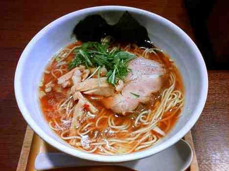 ら〜麺 もぐやの醤油らーめんの口コミ 亀有駅北口 徒歩3分