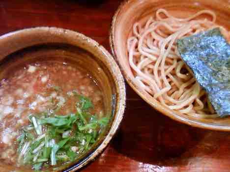 麺屋 えん寺の味玉入りつけ麺の口コミ 東高円寺駅2出口 徒歩1分