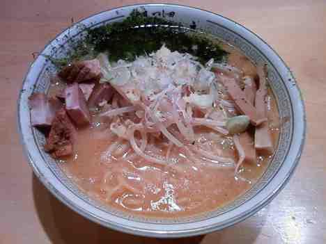 二代目つじ田 味噌の章の味噌らーめんの口コミ 小川町駅