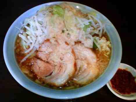 麺や あかつきのあかつき麺+辛玉の口コミ 駒込駅