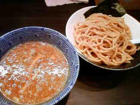 麺や ポツリの濃厚煮干つけ麺の口コミ 大門駅から徒歩6分
