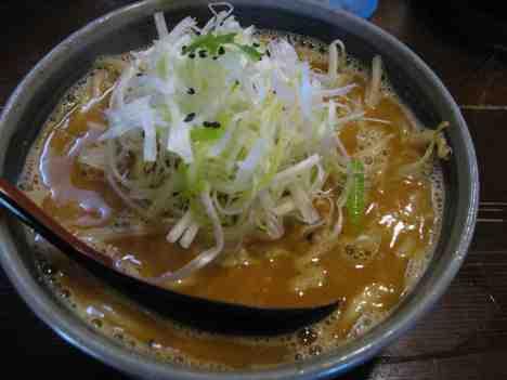 中華そば 螢の海の味噌そば の口コミ 東武野田線 大和田駅 徒歩10分