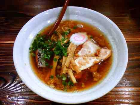 G麺7のらーめん正油の口コミ 京浜急行 または 横浜市営地下鉄「上大岡駅」から徒歩7分ほど