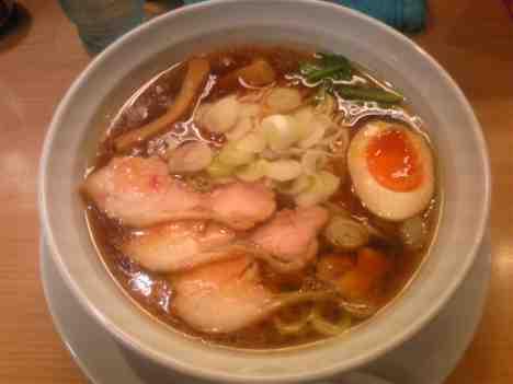 つけ麺  Nijinoitoのラーメン(あっさり)の口コミ 春日部駅西口 徒歩10分くらい