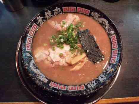 無鉄砲 中野店の豚骨ラーメンの口コミ 西武新宿線「沼袋駅」から徒歩7分ほど