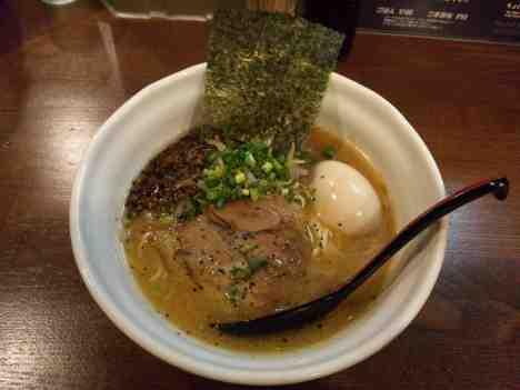 麺場 ながれぼしのたまご入りらーめんの口コミ 京浜急行「京急蒲田駅」から徒歩5分