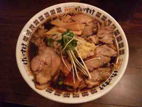 NEW OLD STYLE 肉そばけいすけの肉そばの口コミ 新宿線、半蔵門線「住吉駅」から徒歩1分