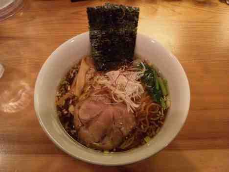 らぁ麺 あんどの醤油らぁ麺の口コミ 東京メトロ日比谷線「三ノ輪駅」から徒歩2分
