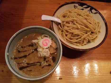 朧月の濃厚つけ麺の口コミ JR、東京メトロ日比谷線「銀座駅」