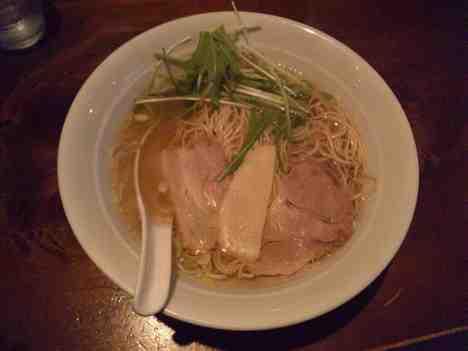 麺処 はるにれのしおラーメンの口コミ 東急大井町線「戸越公園駅」から徒歩1分
