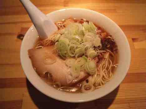 麺や のかぜの煮干醤油らーめんの口コミ JR高崎線「深谷駅」から徒歩20分ほど