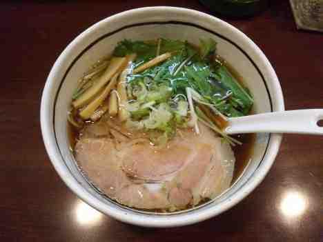 麺屋 旬の和風しょうゆらーめんの口コミ 東武東上線「川越市駅」から徒歩約20分