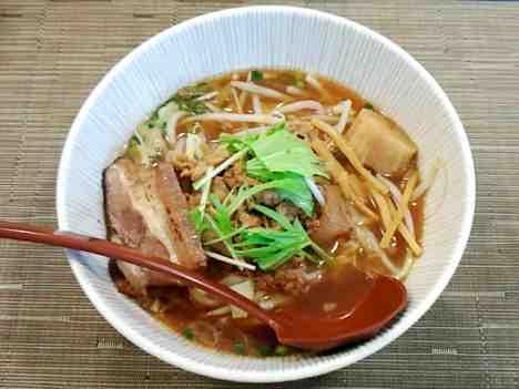 麺 ten しばふの肉そばの口コミ 東武東上線「上福岡駅」からバス10分