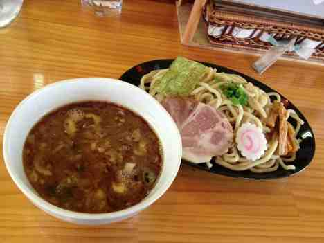 つけ麺処 めん家りくのつけ麺(並)の口コミ 東武東上線「小川町駅」から徒歩15分ほど
