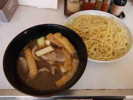 浦和大勝軒の肉汁つけ麺の口コミ JR埼京線「浦和駅」から徒歩8分ほど
