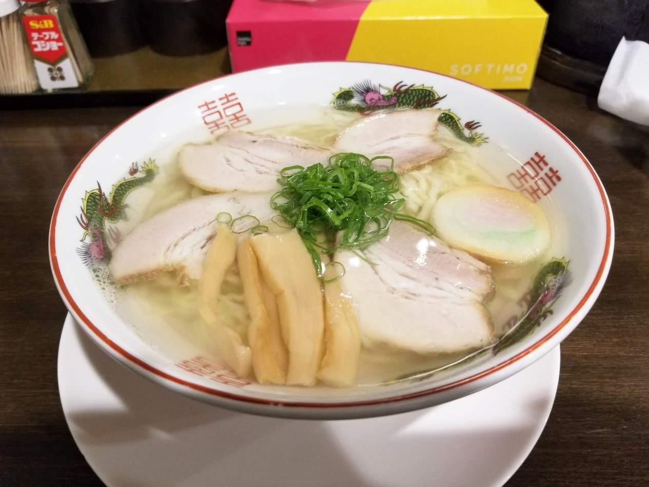 自家製麺中華そば番家 越谷市
